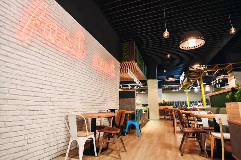 kaufland food court
